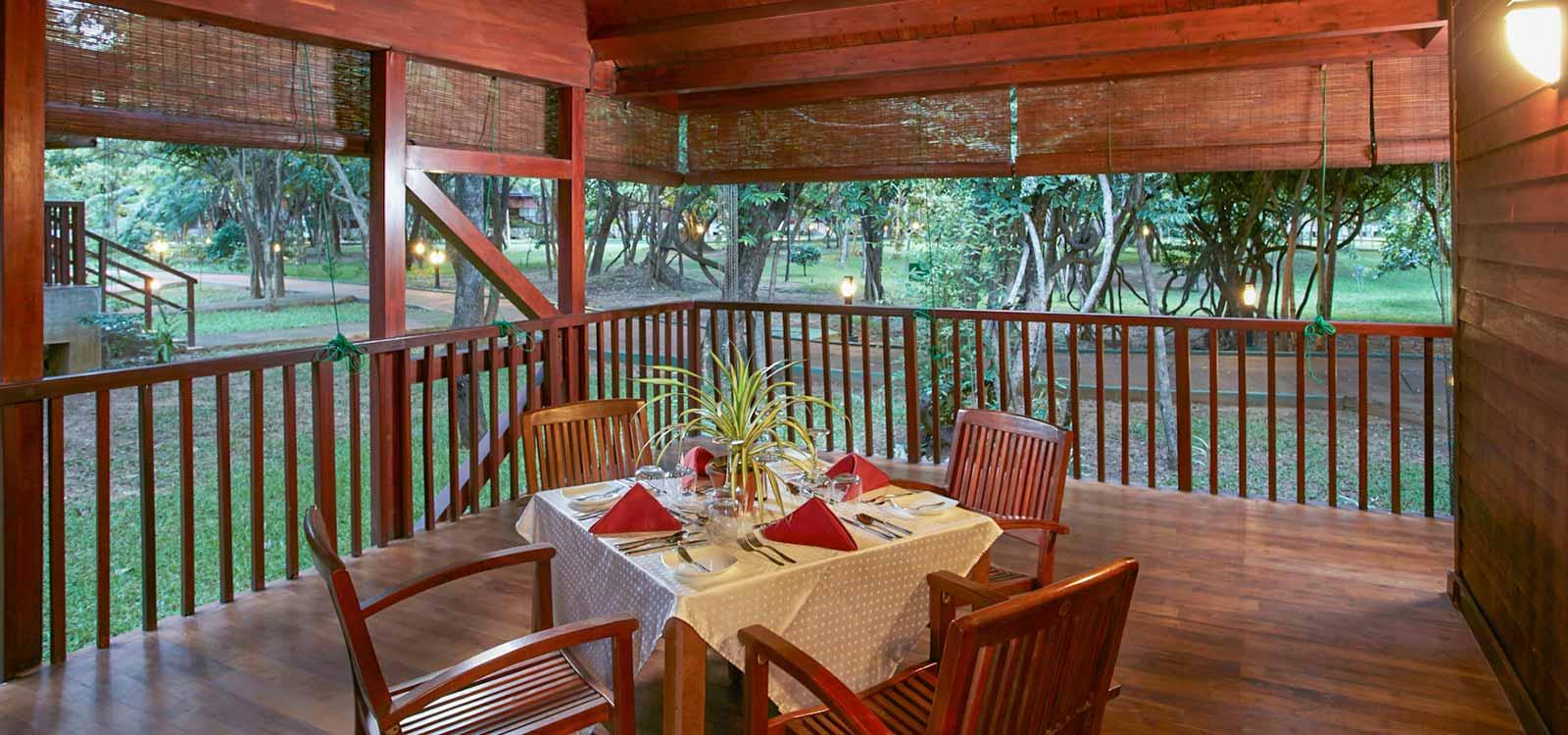 e Resort private garden-min