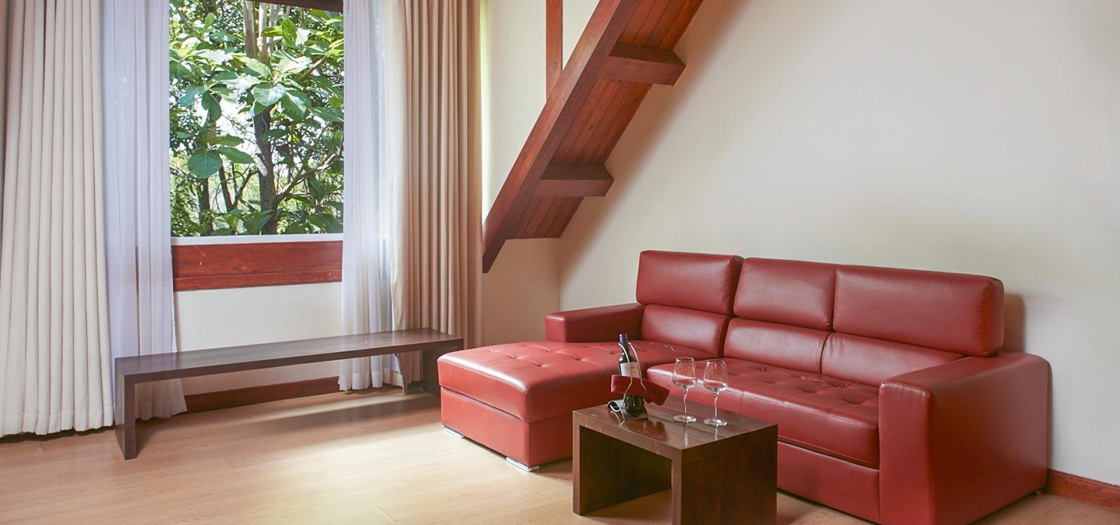 The Paradise duplex room