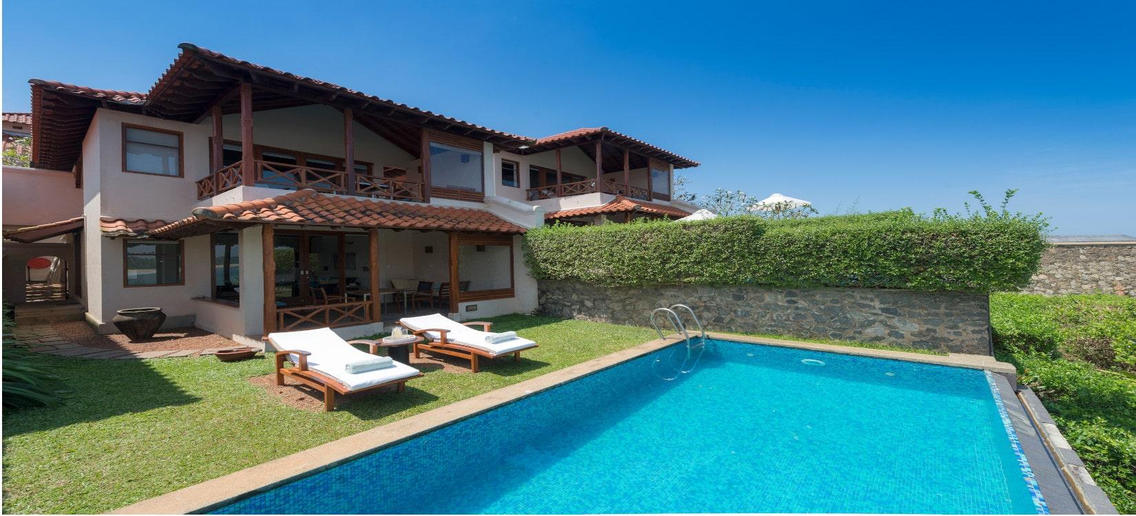 villa with pool srilanka-min